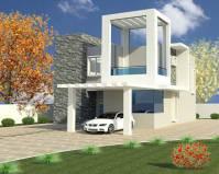 دانلود پروژه رویت REVIT خانه ویلایی  مدرن دوطبقه حیاط دار