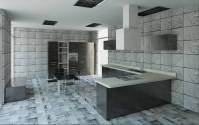 دانلود پروژه رویت REVIT آشپزخانه مدرن