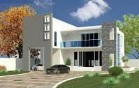 دانلود پروژه رویت REVIT خانه ویلایی دوطبقه مدرن