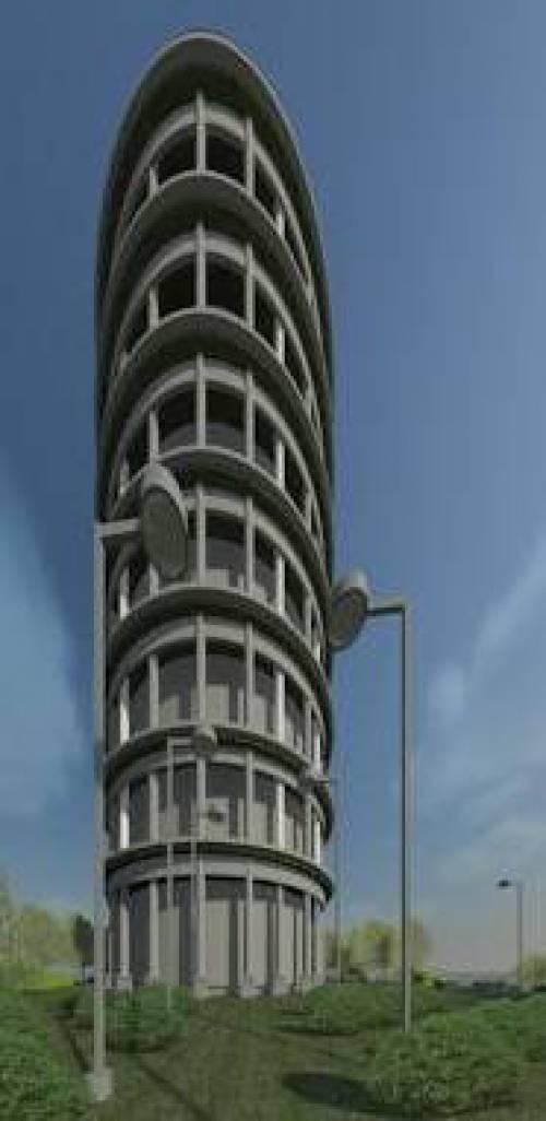دانلود پروژه رویت REVIT برج